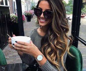 coffe, fun, and girl image