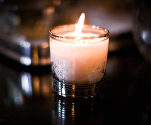 candle, light, and fire image