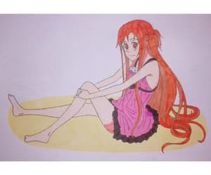 anime, draw, and sample image