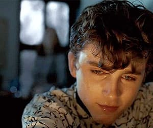 gif, call me by your name, and timothee chalamet image