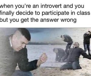 anxiety, girl, and introvert image