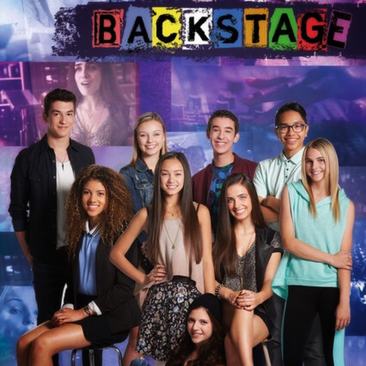 article, backstage, and disney channel image
