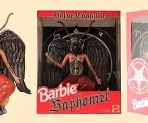 barbie, satanism, and baphomet image