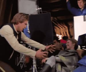 carrie fisher, han solo, and leia organa image