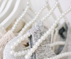 fashion, pearls, and clothes image