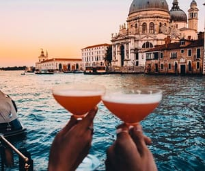 drinks, italy, and photography image