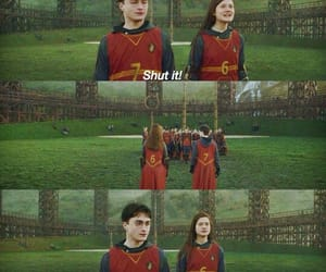 harry potter and ginny weasly image