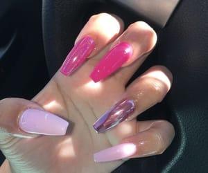 acrylics, pretty, and nail design image