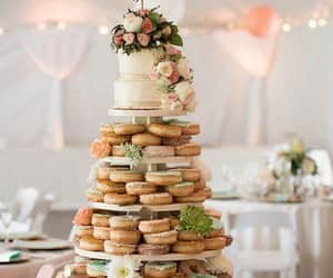 cakes, donuts, and wedding goals image