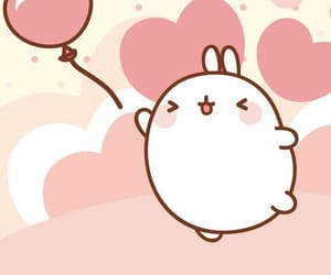 kawaii, molang, and cute image