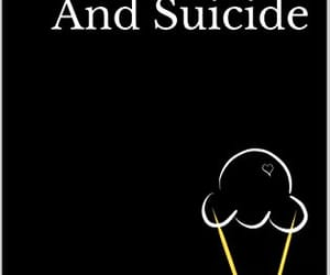 books, poetry, and ice cream and suicide image