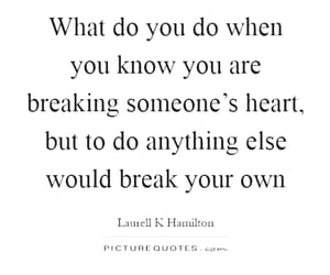 break up, heart break, and quotes image