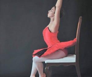 bailarina, belleza, and dibujo image
