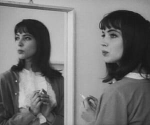 girl, anna karina, and vintage image