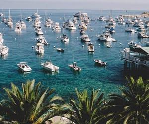 california, sea, and santa catalina island image