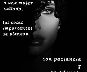 mujer, paciencia, and vida image