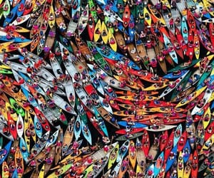 new york, guinness world records, and canoes image