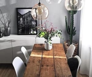 dinning room, fashion, and home image
