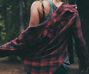 aesthetic, forest, and tumblr image