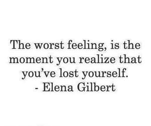 quotes, elena gilbert, and lost image