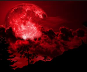 clouds, wallpaper, and blood moon image