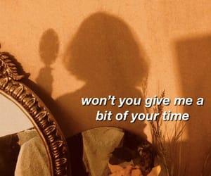 aesthetic, girl, and Lyrics image