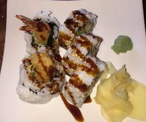 fish, rolls, and food image