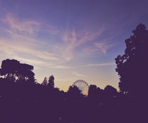 aesthetic, amusement park, and pastel image