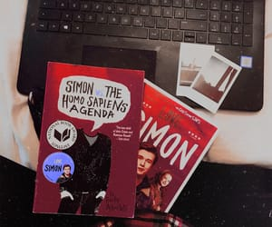 books, movie, and photography image