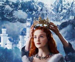 crown, sansa stark, and seven kingdoms image