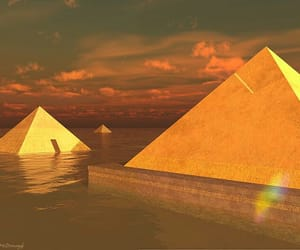 aesthetic, egypt, and pyramid image