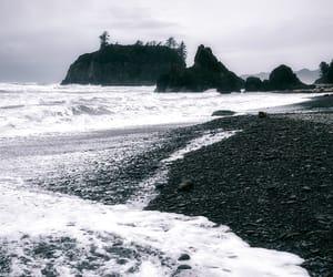 coastline, folk, and landscape image