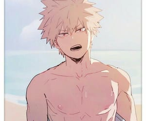 boku no hero academia, anime, and katsuki bakugo image