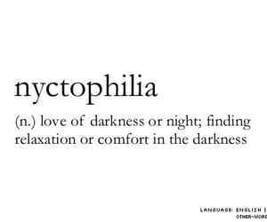 nyctophilia, Darkness, and night image