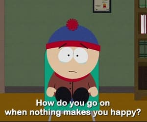 South park, sad, and unhappy image