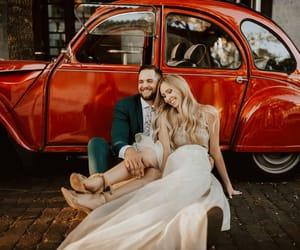 couple, wedding, and love image