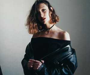 black, makeup, and model image