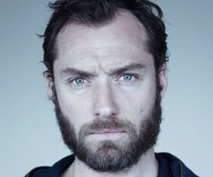 beard and beautiful eyes image