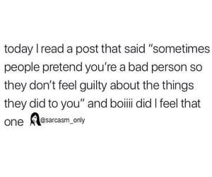 bad, deep, and felt image
