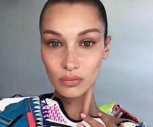 model, bella, and freckles image