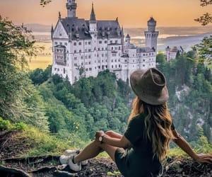architecture, castle, and explore image