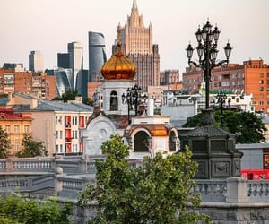 architecture, moscow, and town image