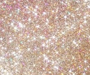 glitter, gold, and wallpaper image