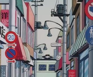 aesthetic, anime, and japan image