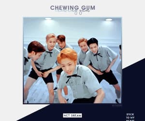 chewing gum, mark lee, and jisung image