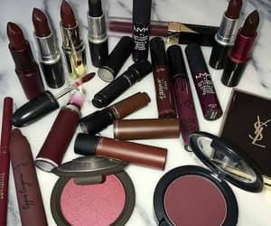 beauty, lip stick, and make up image