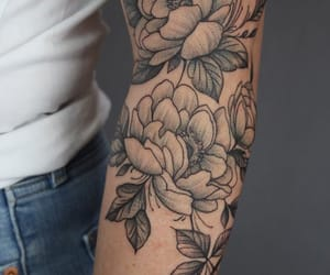 flowers, tattoo, and inspiration image