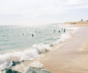 beach, summer, and ocean image