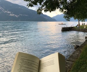 book, traveling, and place image