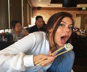 sahar luna, sahar, and sushi image
